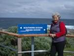Southern Ocean meets Indian Ocean Cape Leeuwin WA Bev Dunbar Maths Matters
