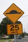 Speed Hump 25 km/h Bev Dunbar Maths Matters