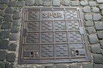 Square Pavement Grate Rome Bev Dunbar Maths Matters