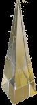 Square Pyramid Crystal Bev Dunbar Maths Matters
