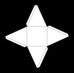 Square Pyramid Net (bw) John Duffield duffield-design