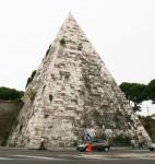 Square Pyramid of Gauis Cestius Rome Bev Dunbar Maths Matters