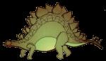 Stegosaurus Dinosaur - John Duffield