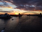 Sunset Sydney Harbour Bev Dunbar Maths Matters