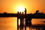 Sunset over the Myall River bev Dunbar Maths Matters
