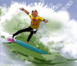 Surfing - John Duffield duffield-design