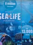 Sydney Aquarium 8 million L water Bev Dunbar Maths Matters