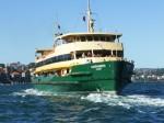 Sydney Ferry front view Bev Dunbar Maths Matters