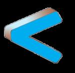 Symbols - Less Than - Blue - John Duffield duffield-design