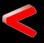 Symbols - Less Than - Red - John Duffield duffield-design