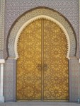 Symmetrical Door Pattern Morocco Bev Dunbar Maths Matters