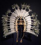 Symmetrical Initiate Mask (Yessie Mosby Torres Strait 2010 NGA Canberra) Bev Dunbar Maths Matters