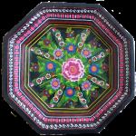 Symmetry - 2D regular octagon - Mexican plate - Bev Dunbar Maths Matters