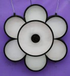 Symmetry - 6 petal wall light Bev Dunbar Maths Matters