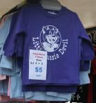 T shirts $5 Hobart Markets Bev Dunbar Maths Matters