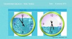 Tamarama- Tide Times - John Duffield duffield-design