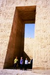 Tapered Rectangular Prism opening Karnak Egypt Bev Dunbar Maths Matters