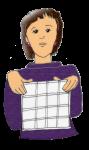 Teacher with area grid- John Duffield duffield-design