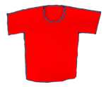 Teeshirt - Red - John Duffield duffield-design