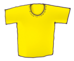 Teeshirt - Yellow - John Duffield duffield-design