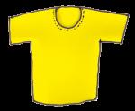 Teeshirt - Yellow - John Duffield duffield-design