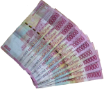 Ten 100000 Indonesian Rupiah Notes Bev Dunbar Maths Matters