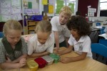 The finished order mystery parcel activity Bev Dunbar Maths Matters