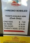 Thredbo Bobsled Ticket Prices Bev Dunbar Maths Matters