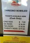 Thredbo Bobsled Ticket Prices Bev Dunbar Maths Matters