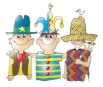 Boys - Three Amigos with Hats - Data - John Duffield duffield-design