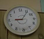 Time goes backwards Bev Dunbar Maths Matters