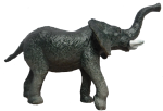 Toy elephant - wild animals - Bev Dunbar Maths Matters