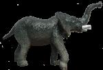 Toy elephant - wild animals - Bev Dunbar Maths Matters