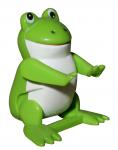 Green toy frog Bev Dunbar Maths Matters