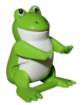 Toy frog (isolated) Bev Dunbar Maths Matters