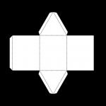 Tri Prism Net (bw) John Duffield duffield-design