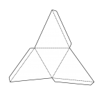 Tri Pyramid Net (bw) John Duffield duffield-design