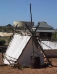 Triangular Prism Gold Miner's Tent Kalgoolie WA Bev Dunbar Maths Matters