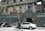 Triangular Wall Shanghai Bev Dunbar Maths Matters
