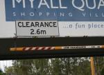 Truck clearance height 2.6 m Bev Dunbar Maths Matters