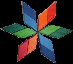 Turn wooden block rotation pattern 2 Bev Dunbar Maths Matters