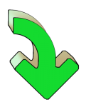 Turning Arrows - Green Down - John Duffield duffield-design