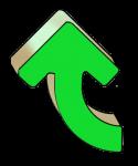Turning Arrows - Green Up - John Duffield duffield-design