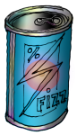 Volume - Blue Fizzy Drink Can - John Duffield duffield-design