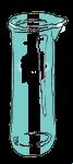 Volume - Unmarked Beaker - Empty - John Duffield duffield-design