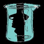 Volume - Unmarked Quarters Beaker - Empty - John Duffield duffield-design