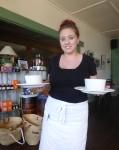 Waitress Tekeyah Bev Dunbar Maths Matters