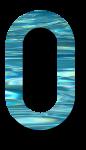 Water Archiform Numbers 0 - John Duffield duffield-design