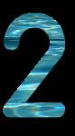 Water Archiform Numbers 2 - John Duffield duffield-design