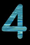 Water Archiform Numbers 4 - John Duffield duffield-design